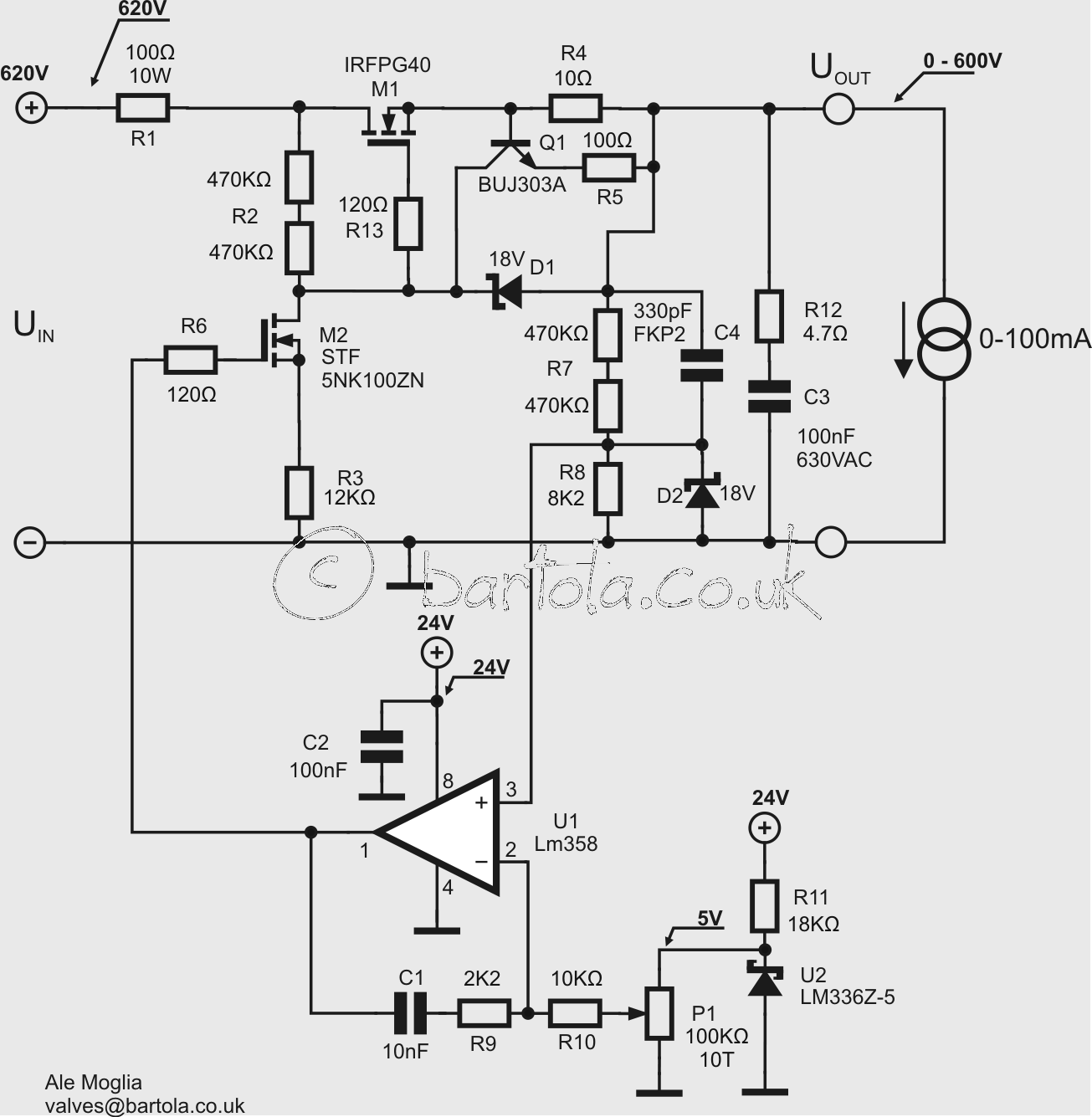 600v Bench Variable Supply To Test Transmitting Valves Page 9 Lm358 Op Amp Block Diagram Http Worldtechnicalblogspotcom 2012 01 Here Is Final Schematic Bartolacouk Wp Ciser
